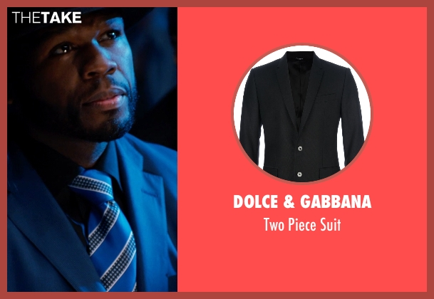 Dolce & Gabbana black suit from Southpaw seen with 50 Cent (Unknown Character)