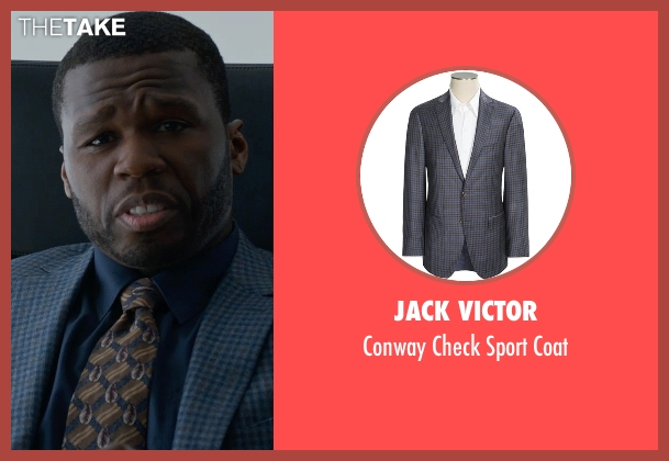 Jack Victor blue coat from Southpaw seen with 50 Cent (Unknown Character)