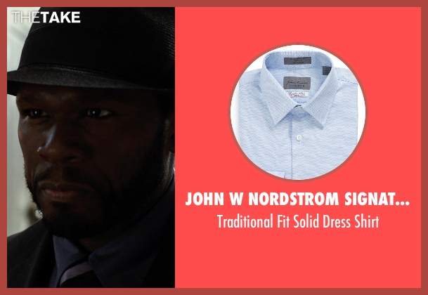 John W Nordstrom Signature blue shirt from Southpaw seen with 50 Cent (Unknown Character)