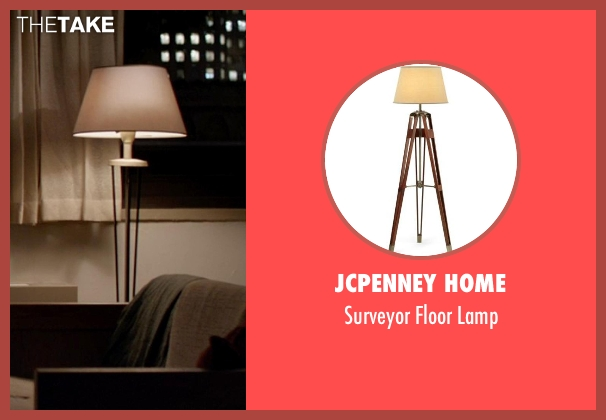JCPenney Home lamp from A Walk Among The Tombstones