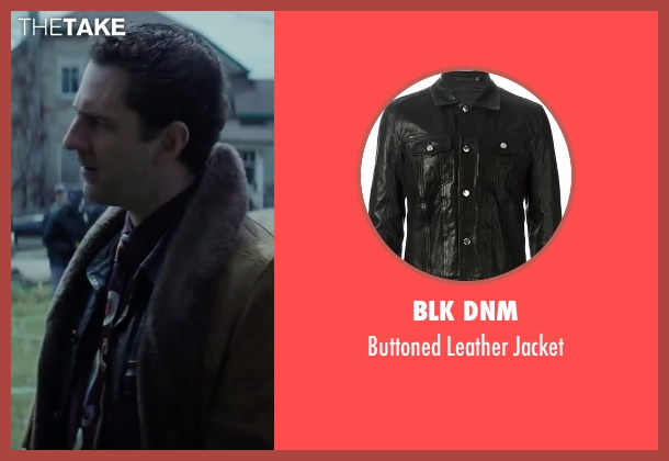 BLK DNM black jacket from Regression seen with Aaron Abrams (Farrell)