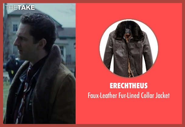 Erechtheus brown jacket from Regression seen with Aaron Abrams (Farrell)