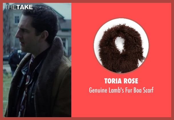 Toria Rose brown scarf from Regression seen with Aaron Abrams (Farrell)