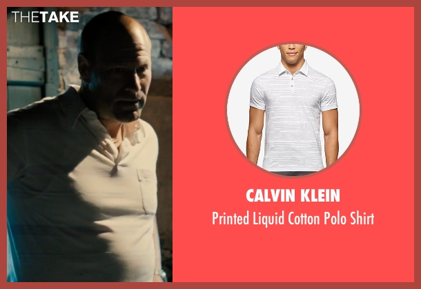 Calvin Klein white shirt from Bleed for This seen with Aaron Eckhart (Kevin Rooney)