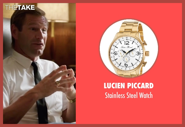 Lucien Piccard gold watch from My All American seen with Aaron Eckhart (Darrell Royal)