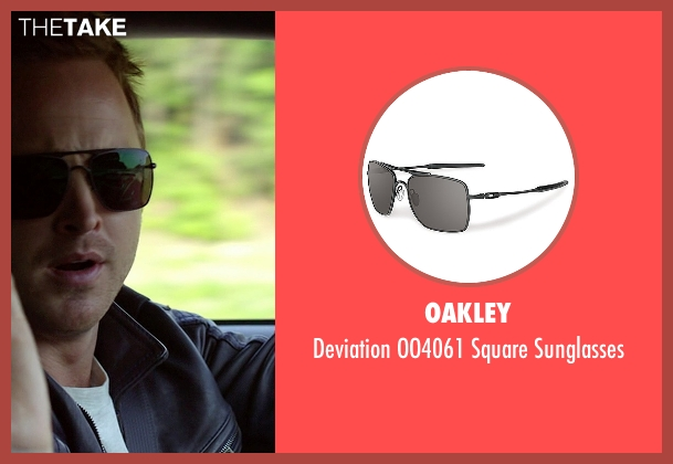 Oakley black sunglasses from Need for Speed seen with Aaron Paul (Tobey Marshall)