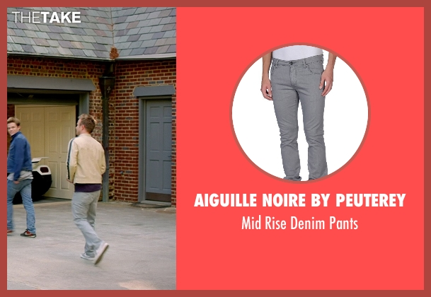 Aiguille Noire By Peuterey gray pants from Need for Speed seen with Aaron Paul (Tobey Marshall)