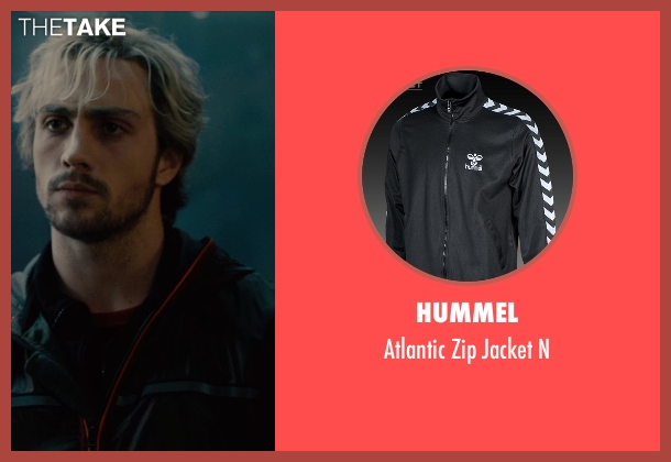 Hummel black n from Avengers: Age of Ultron seen with Aaron Taylor-Johnson (Pietro Maximoff / Quicksilver)