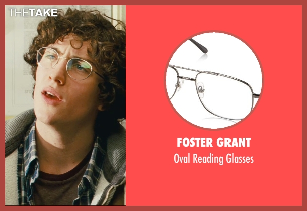 Foster Grant white glasses from Kick-Ass seen with Aaron Taylor-Johnson (Dave Lizewski / Kick-Ass)