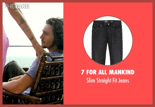 7 For All Mankind black jeans from Savages seen with Aaron Taylor-Johnson (Ben)