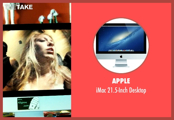 Apple desktop from Savages seen with Aaron Taylor-Johnson (Ben)
