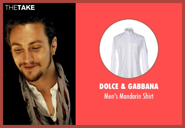 Dolce & Gabbana white shirt from Savages seen with Aaron Taylor-Johnson (Ben)
