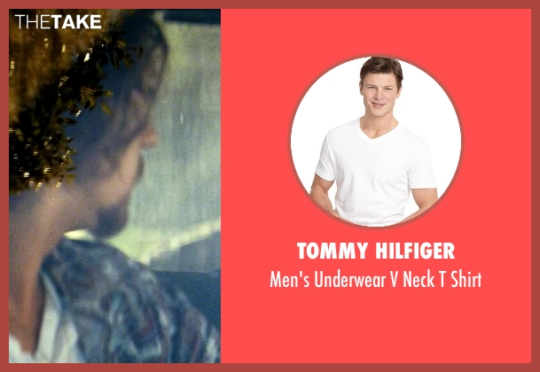 Tommy Hilfiger white shirt from Savages seen with Aaron Taylor-Johnson (Ben)