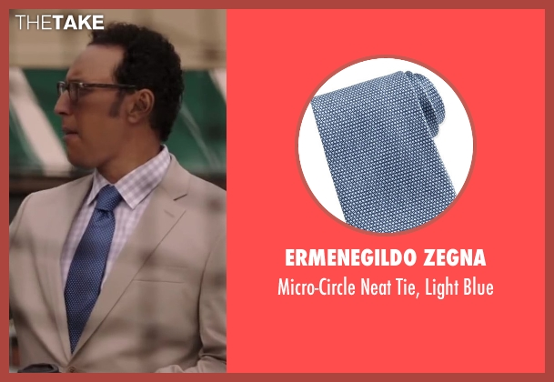 Ermenegildo Zegna blue blue from Million Dollar Arm seen with Aasif Mandvi (Aash)