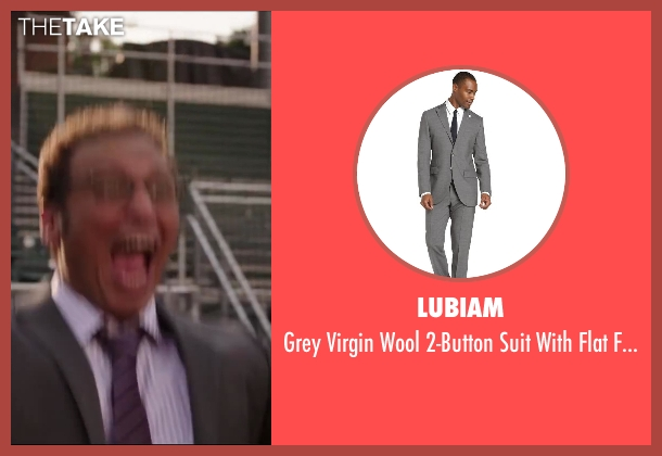 LUBIAM gray pants from Million Dollar Arm seen with Aasif Mandvi (Aash)