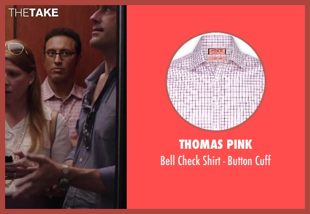 THOMAS PINK pink cuff from Million Dollar Arm seen with Aasif Mandvi (Aash)