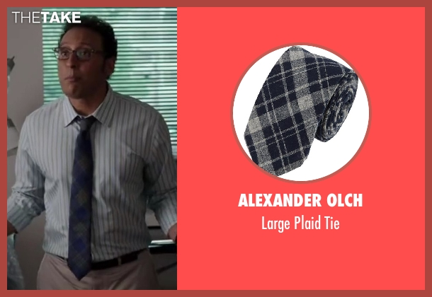 ALEXANDER OLCH tie from Million Dollar Arm seen with Aasif Mandvi (Aash)