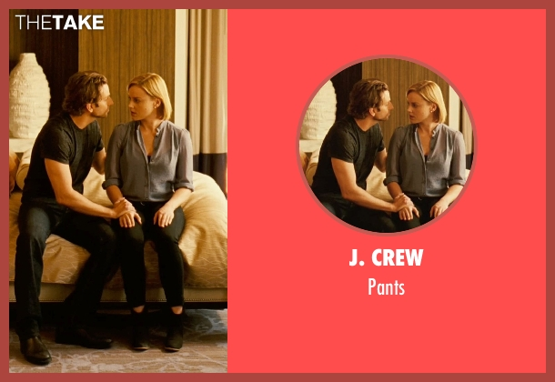J. Crew black pants from Limitless seen with Abbie Cornish (Lindy)