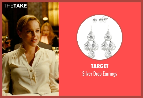 Target earrings from Limitless seen with Abbie Cornish (Lindy)
