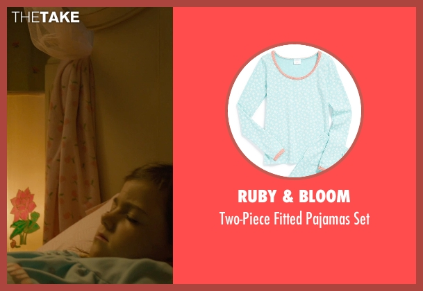 Ruby & Bloom blue set from Ant-Man seen with Abby Ryder Fortson (Cassie Lang)