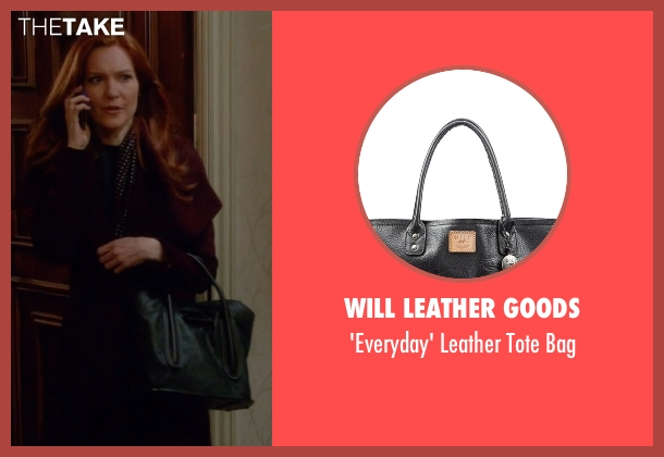 Will Leather Goods black bag from Scandal seen with Abby Whelan (Darby Stanchfield)