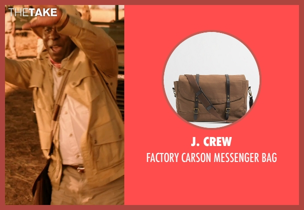 J. Crew bag from Blended seen with Abdoulaye NGom (Mfana)
