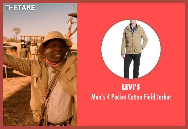 Levi's beige jacket from Blended seen with Abdoulaye NGom (Mfana)
