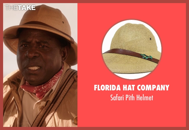Florida Hat Company brown helmet from Blended seen with Abdoulaye NGom (Mfana)