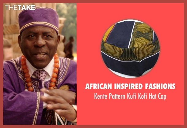 African Inspired Fashions purple cap from Blended seen with Abdoulaye NGom (Mfana)