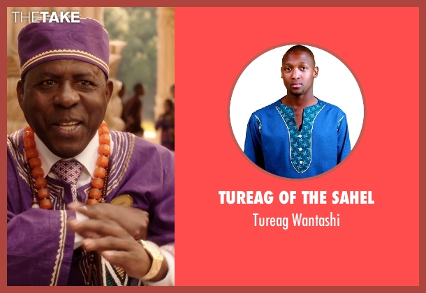 Tureag of the Sahel wantashi from Blended seen with Abdoulaye NGom (Mfana)