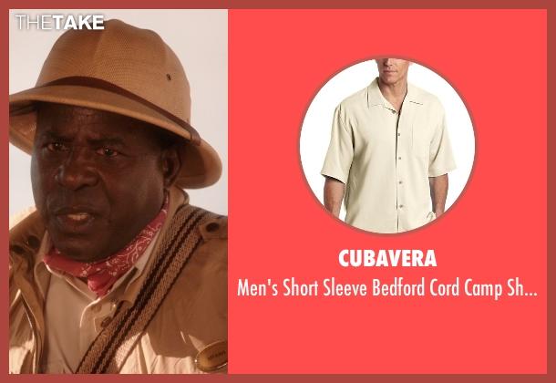 Cubavera white shirt from Blended seen with Abdoulaye NGom (Mfana)