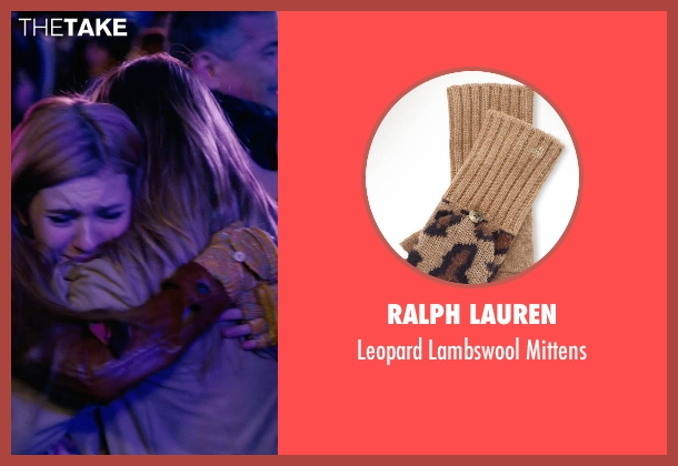 Ralph Lauren brown mittens from New Year's Eve seen with Abigail Breslin (Hailey)