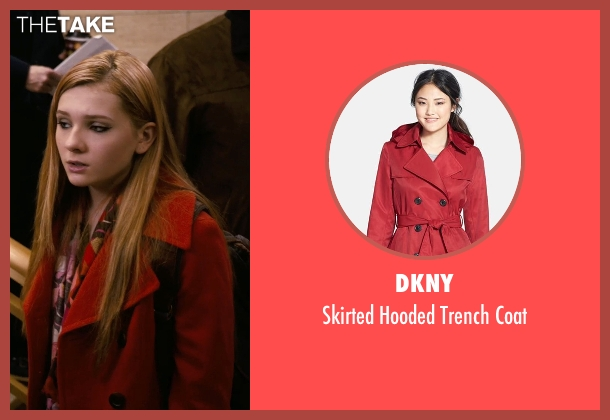 Dkny red coat from New Year's Eve seen with Abigail Breslin (Hailey)