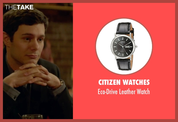 Citizen Watches black watch from Sleeping with Other People seen with Adam Brody (Unknown Character)