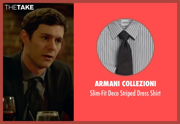 Armani Collezioni gray shirt from Sleeping with Other People seen with Adam Brody (Unknown Character)