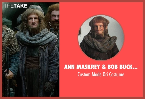 Ann Maskrey & Bob Buck (Costume Designer) costume from The Hobbit: The Battle of The Five Armies seen with Adam Brown (Ori)