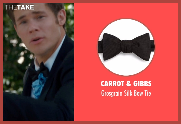Carrot & Gibbs black tie from Mike and Dave Need Wedding Dates seen with Adam DeVine (Mike Stangle)