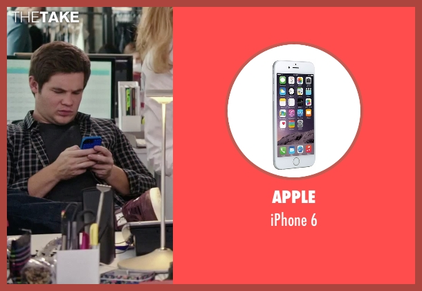 Apple 6 from The Intern seen with Adam DeVine (Jason)