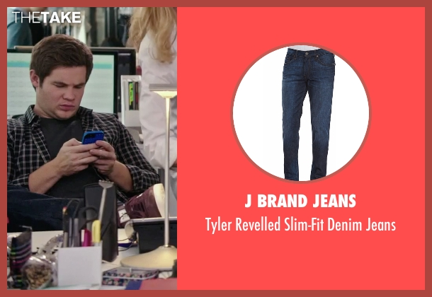 J Brand Jeans blue jeans from The Intern seen with Adam DeVine (Jason)