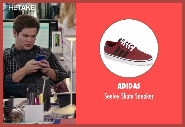 Adidas  red sneaker from The Intern seen with Adam DeVine (Jason)