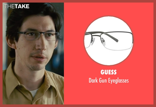 Guess black eyeglasses from Midnight Special seen with Adam Driver (Unknown Character)