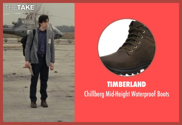 Timberland brown boots from Midnight Special seen with Adam Driver (Unknown Character)