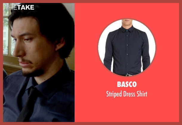 BASCO shirt from This Is Where I Leave You seen with Adam Driver (Philip Altman)