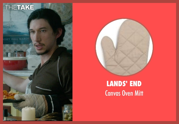 Lands' End mitt from What If seen with Adam Driver (Allan)