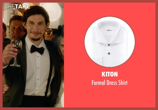 Kiton white shirt from What If seen with Adam Driver (Allan)