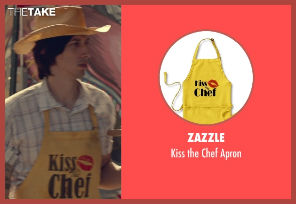 Zazzle apron from While We're Young seen with Adam Driver (Jamie)