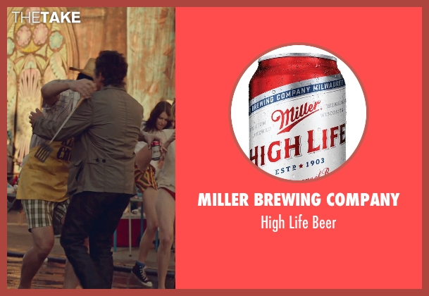 Miller Brewing Company beer from While We're Young seen with Adam Driver (Jamie)
