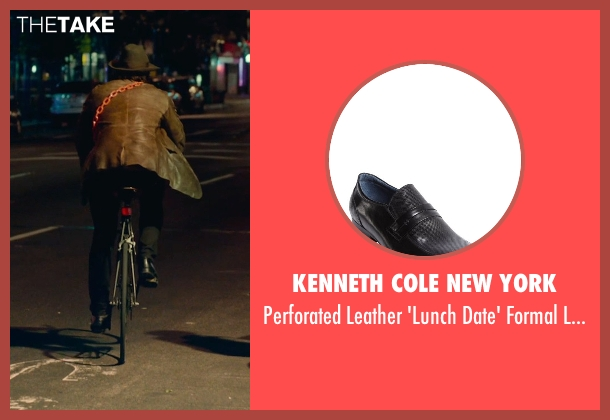 Kenneth Cole New York black loafers from While We're Young seen with Adam Driver (Jamie)