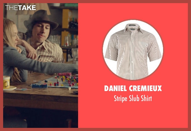 Daniel Cremieux brown shirt from While We're Young seen with Adam Driver (Jamie)