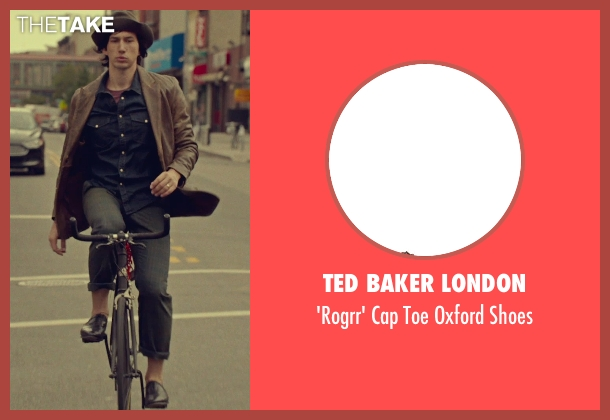 Ted Baker London brown shoes from While We're Young seen with Adam Driver (Jamie)